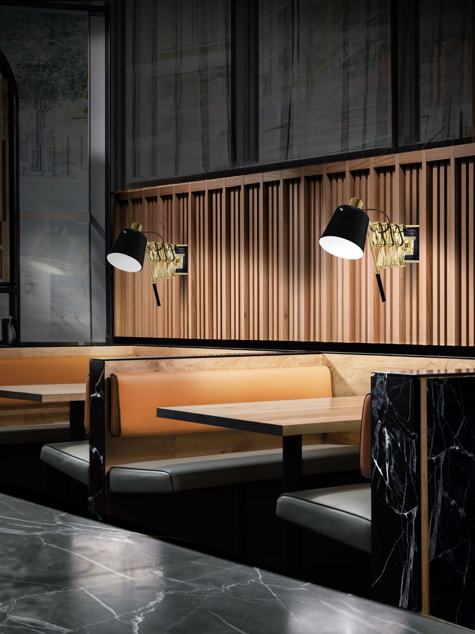 Mid-Century Modern Restaurant Lighting