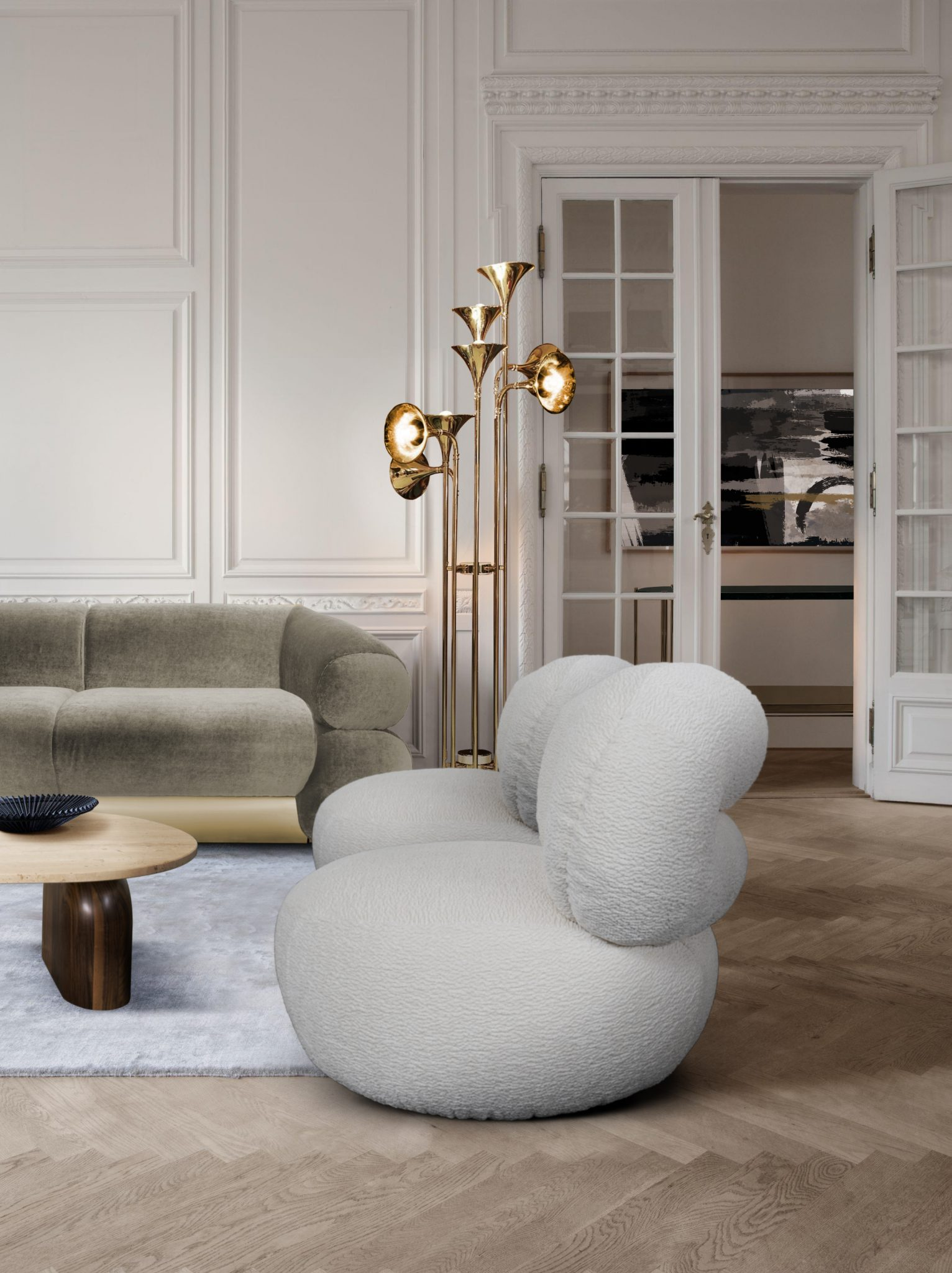 MAKE YOUR MID-CENTURY DECOR STAND OUT WITH BOTTI FLOOR LAMP