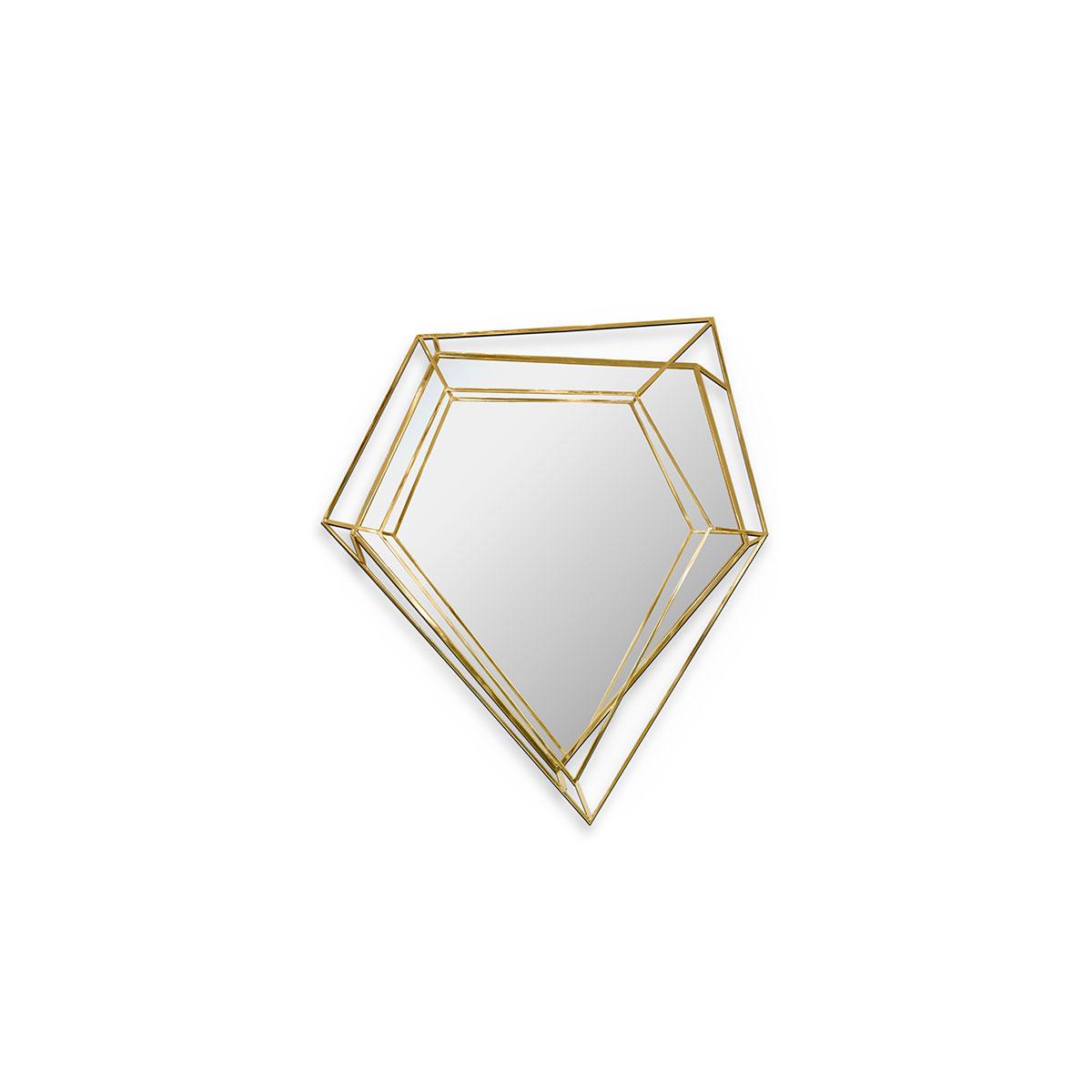 DIAMOND SMALL WALL MIRROR