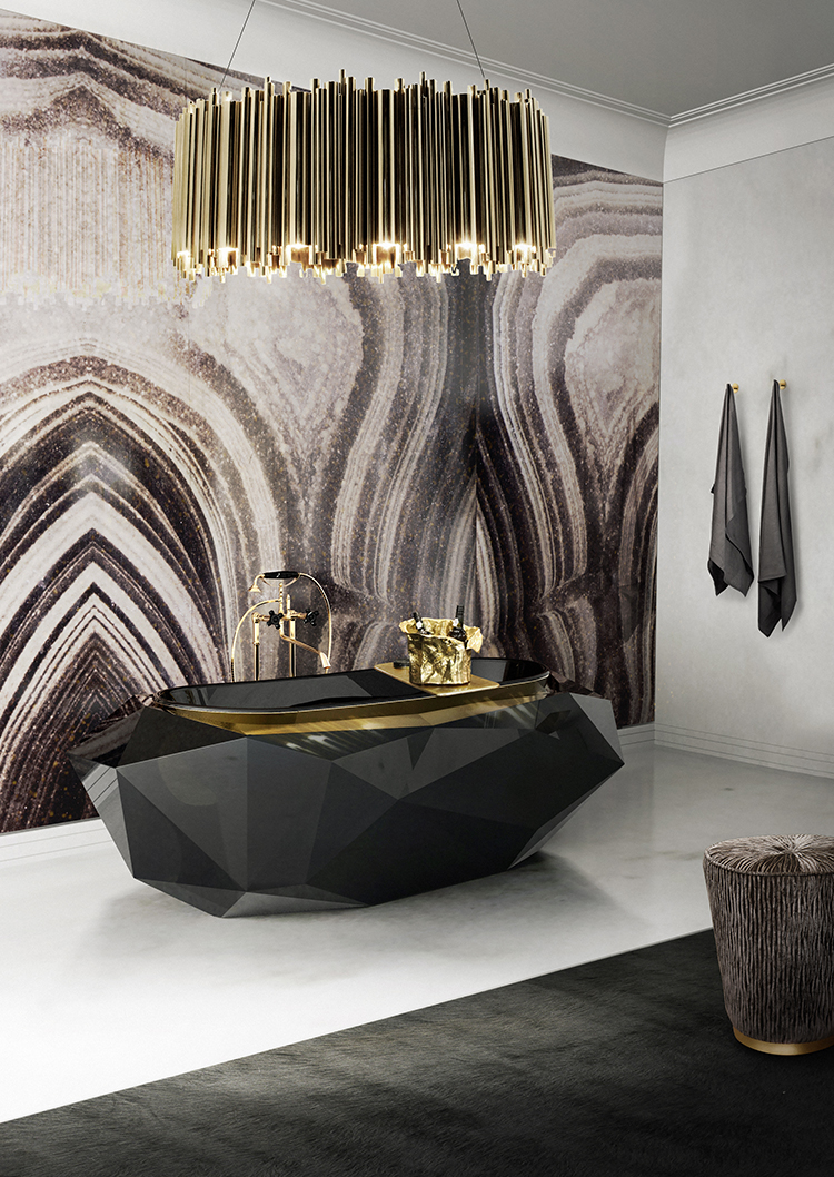 BE INSPIRED WITH BRUBECK ROUND FOR A LUXURY BATHROOM
