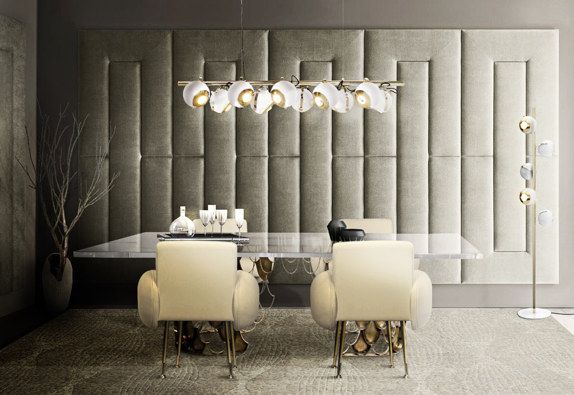 DINING ROOM WITH SCOFIELD SUSPENSION