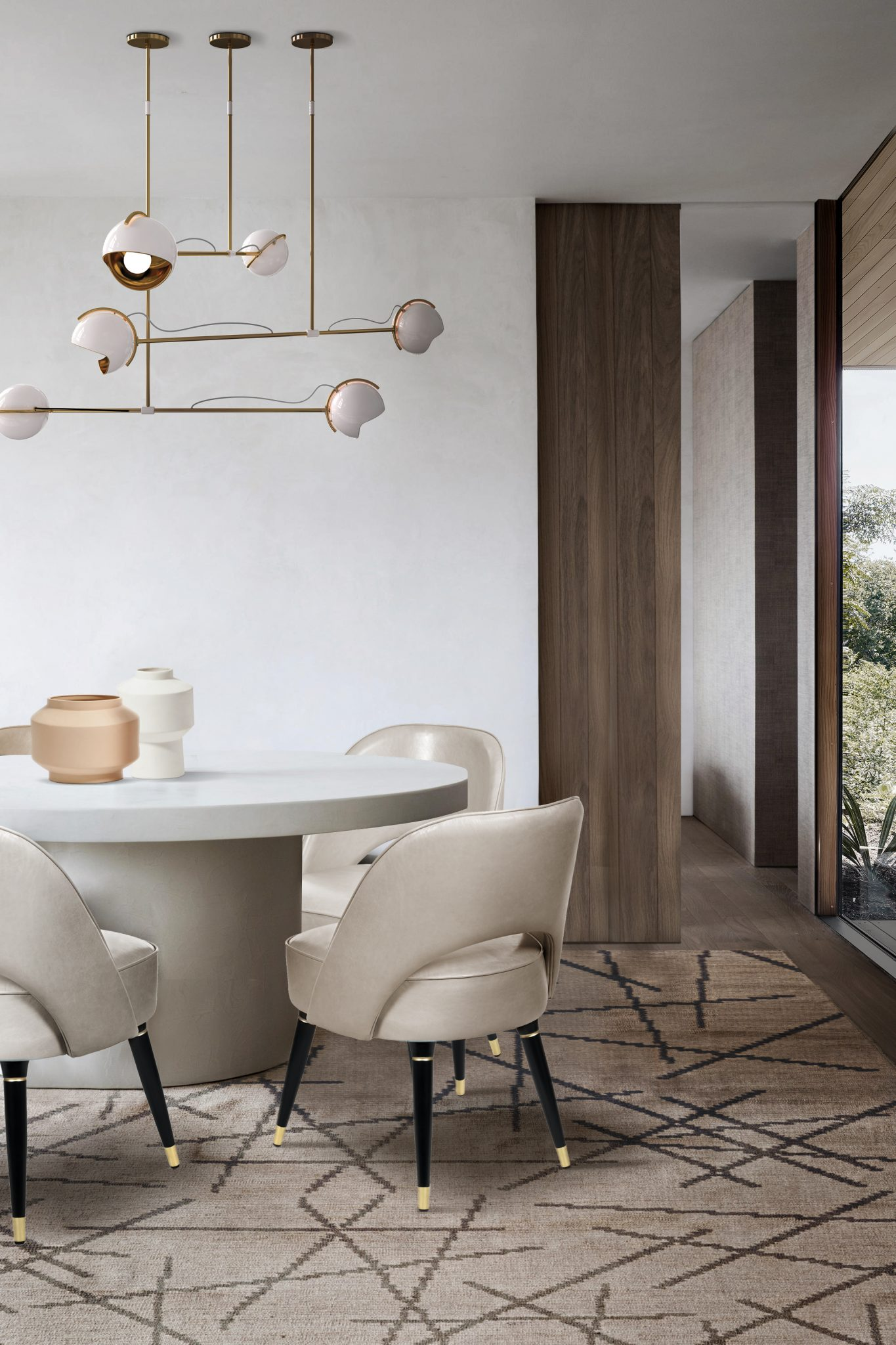 BE INSPIRED BY THIS SOPHISTICATED DINING ROOM