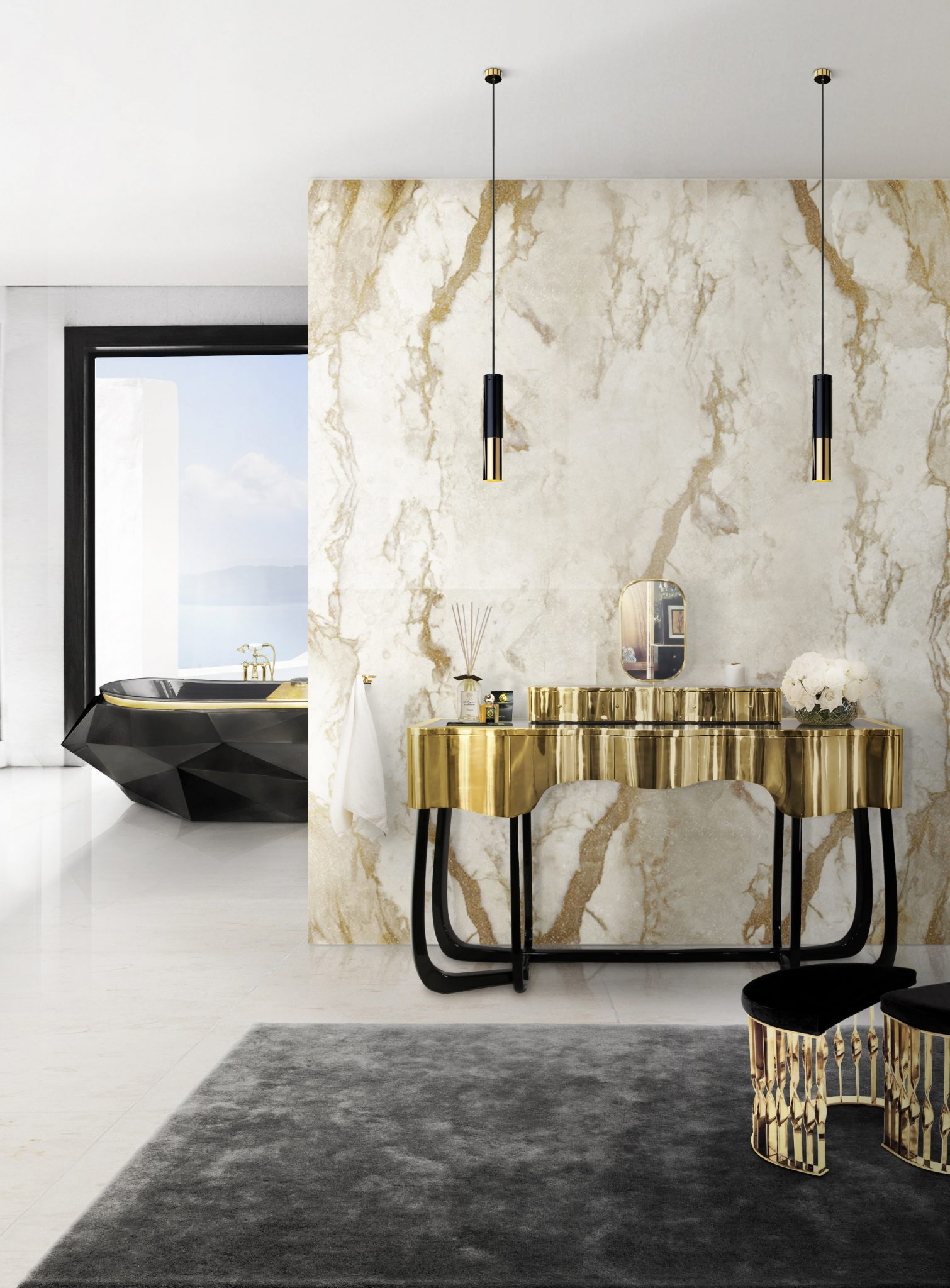THE BEST LUXURY BATHROOM LIGHTING