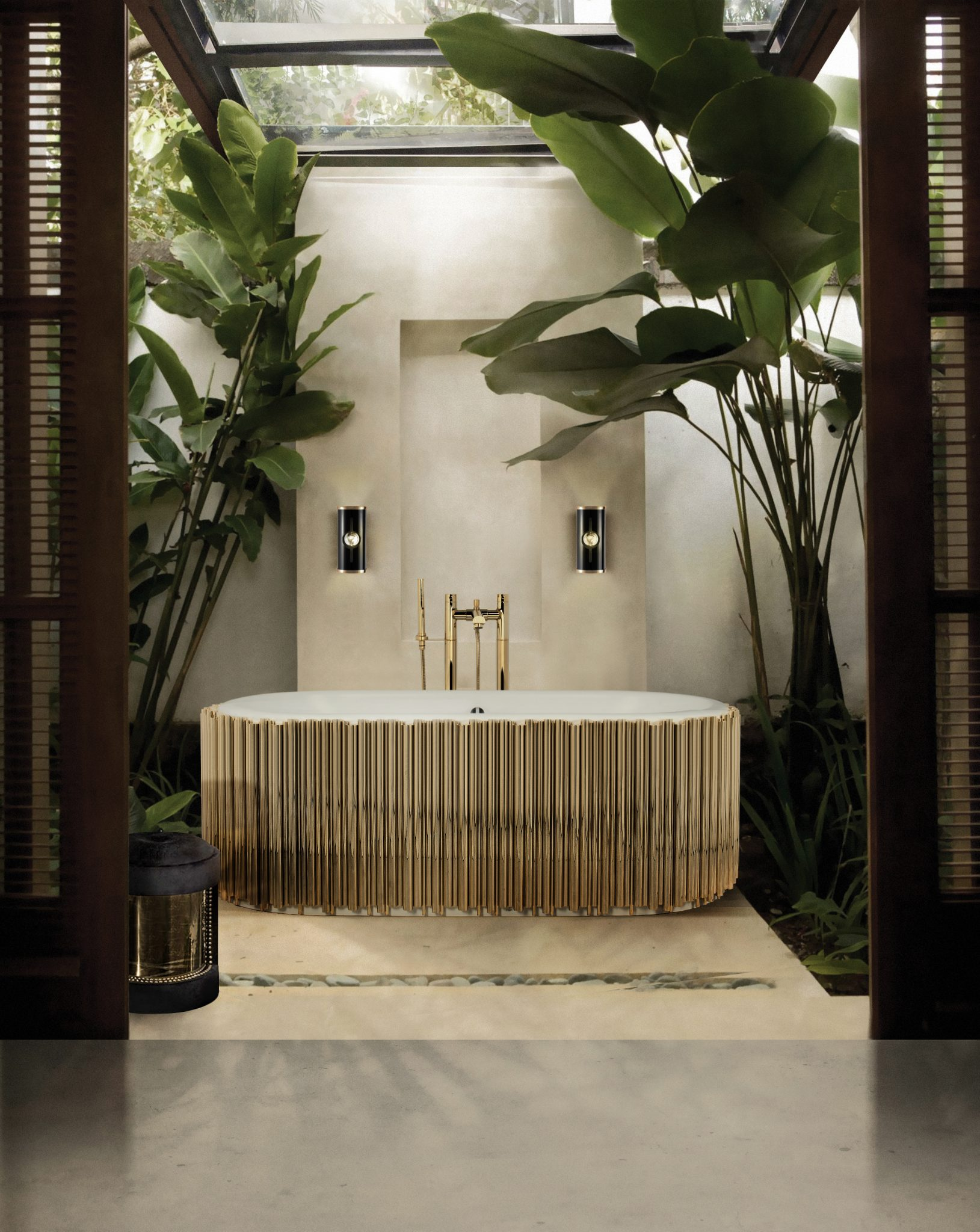DISCOVER THE LUXURY YOU CAN GET TO YOUR BATHROOM WITH PIECES FROM DELIGHTFULL