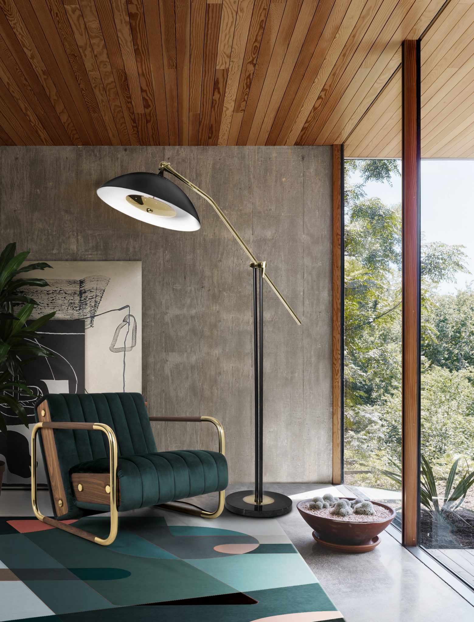 DECOR EVERY CORNER IN YOUR HOUSE WITH MID-CENTURY DETAILS