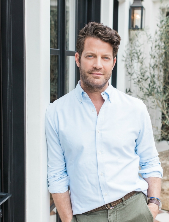 "Nate Berkus Creates ""Livable interiors across the country and around the world"""