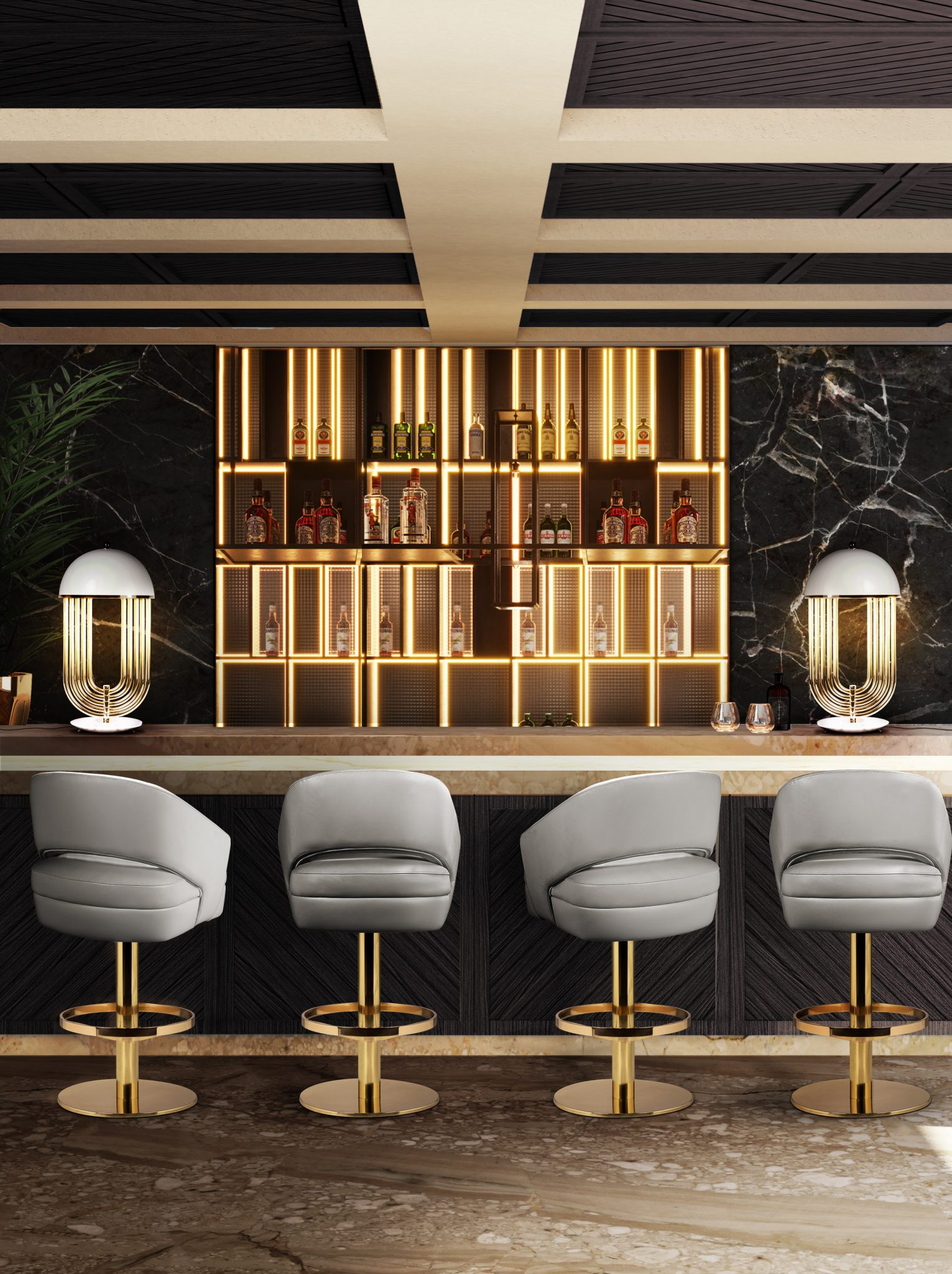 DECORATIVE BAR LIGHTING