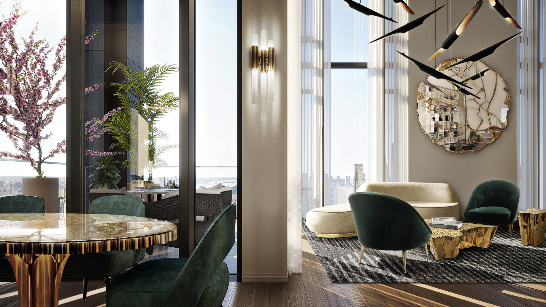 ADD GLAMOUR TO YOUR HOME INTERIOR