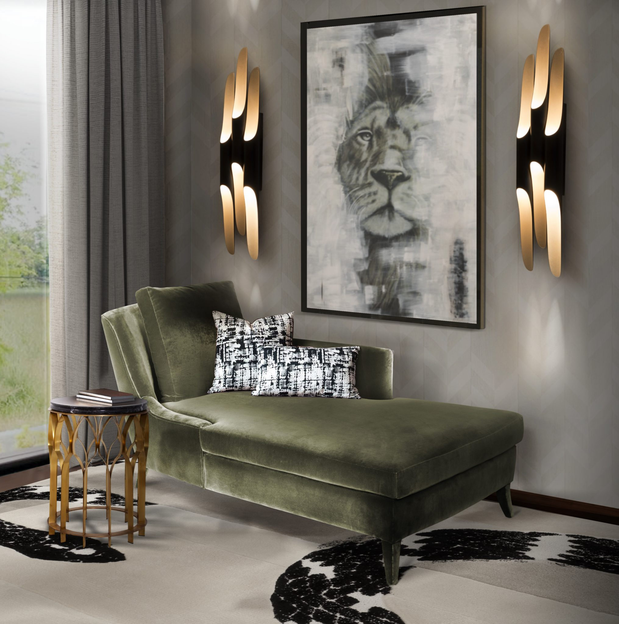 LIGHTING DESIGN FOR ELEGANT LIVING ROOM