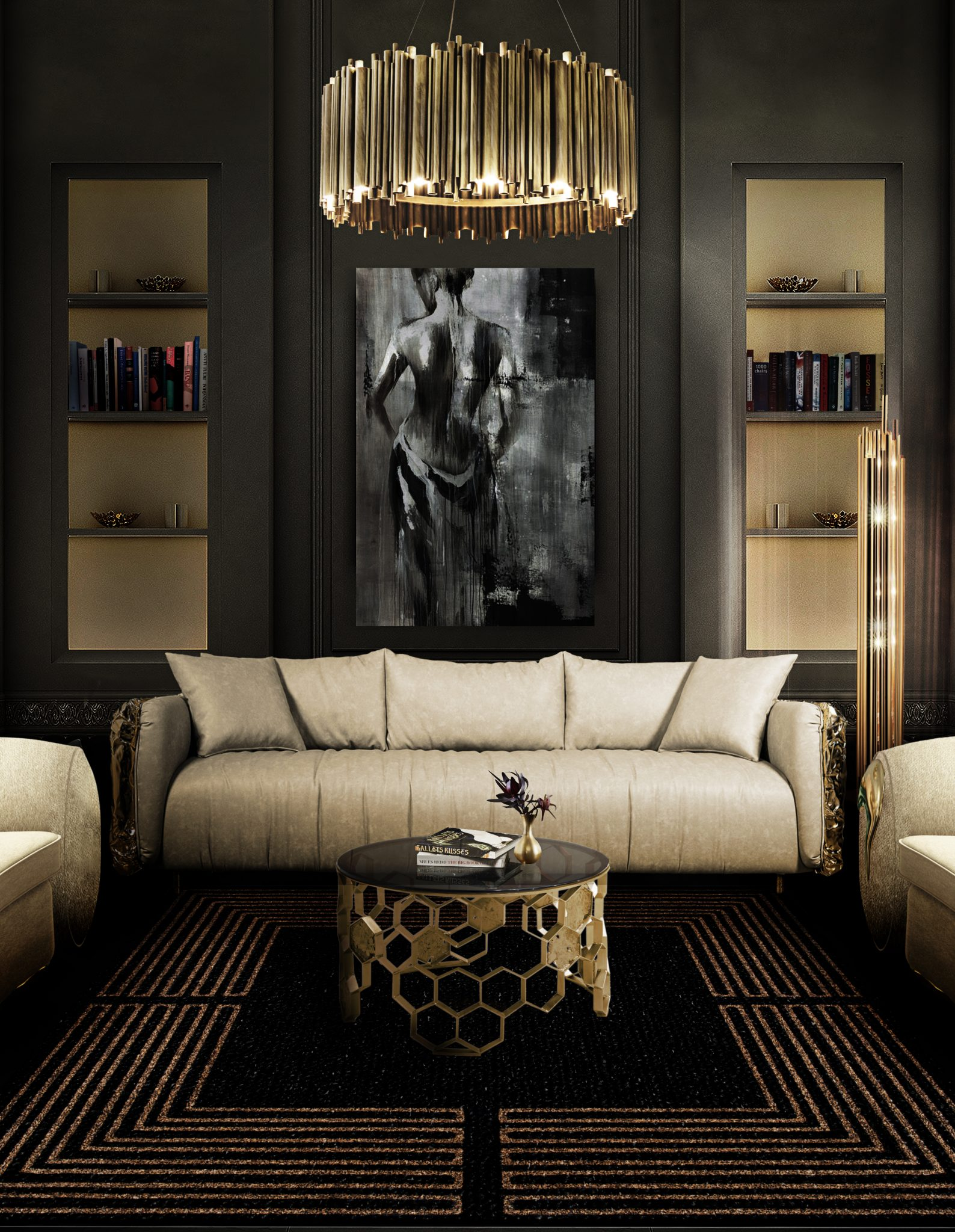 THE RIGHT LIGHTING FOR YOUR LIVING ROOM