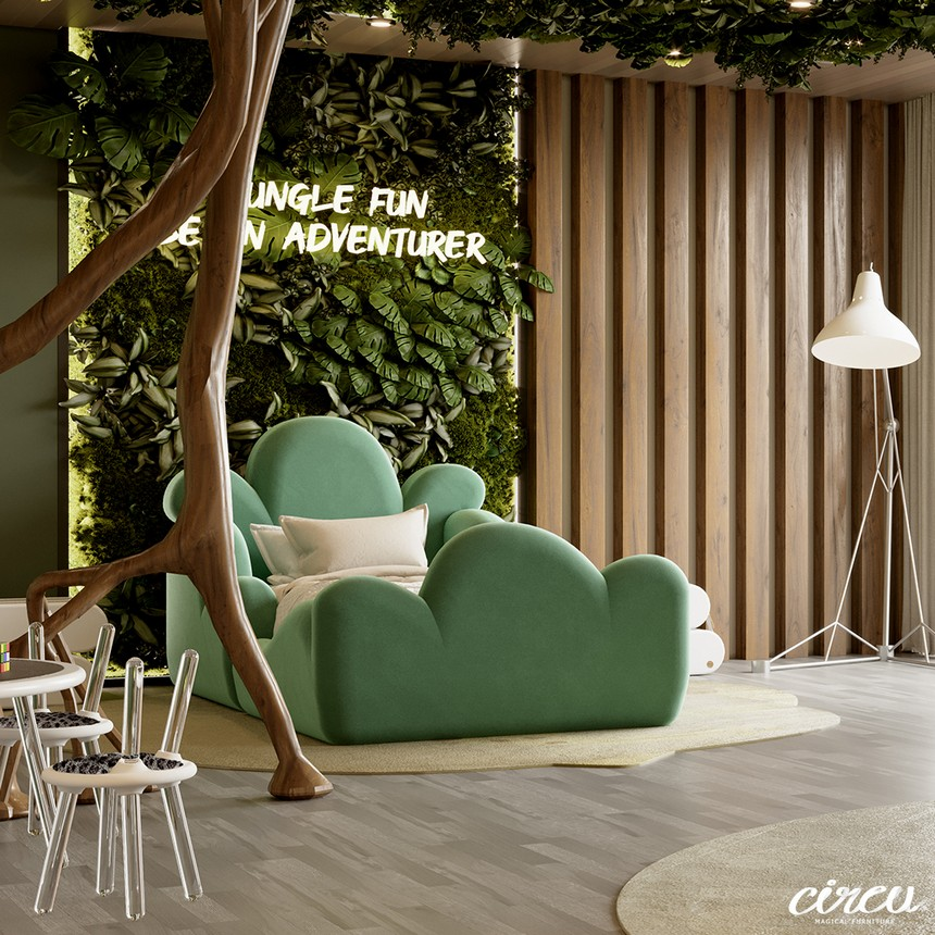 Jungle Theme Kids Room – A Luxury Project Inspired by Nature