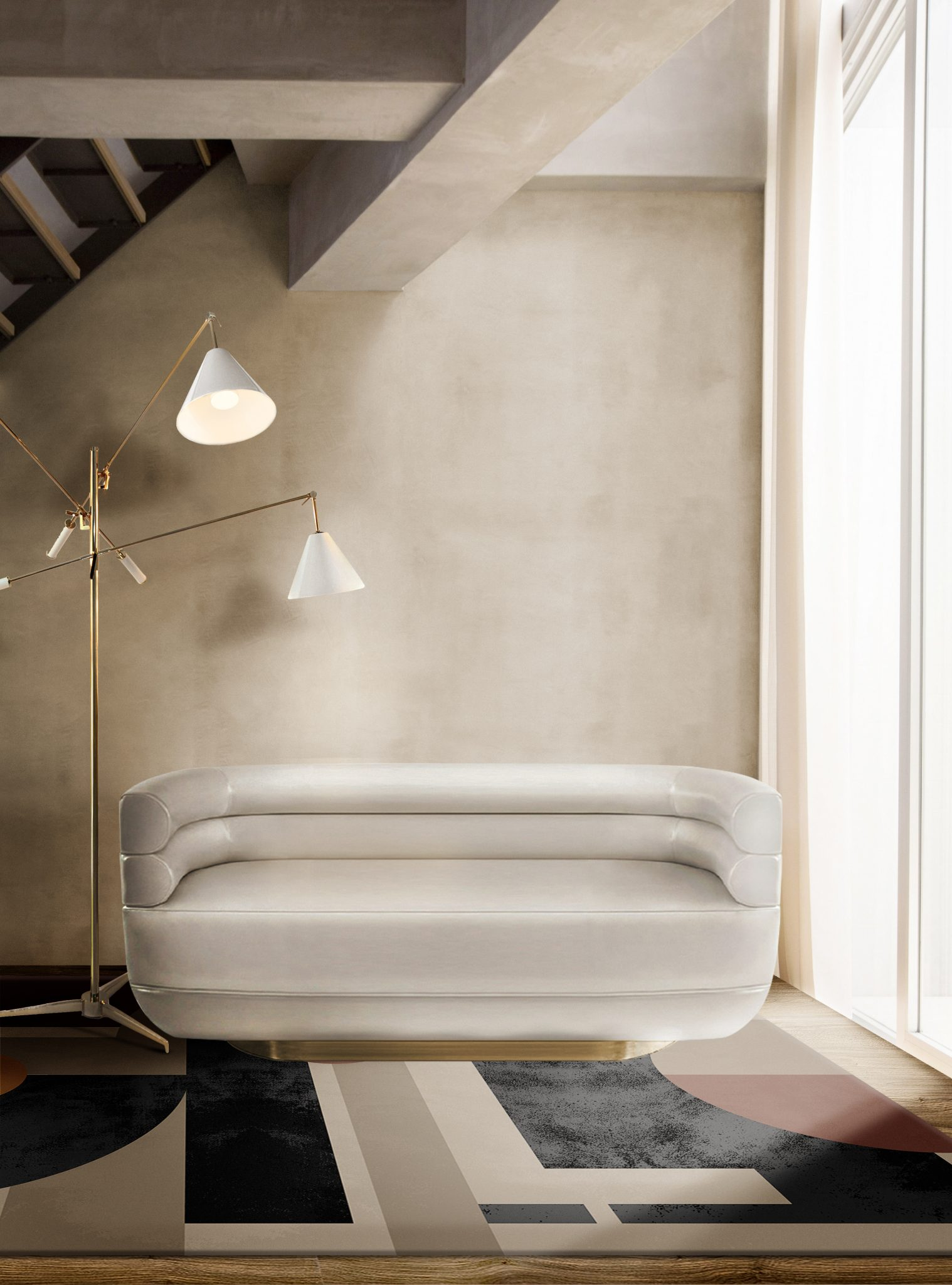 THE RIGHT LIGHTING FOR MINIMALISTIC LIVING ROOM