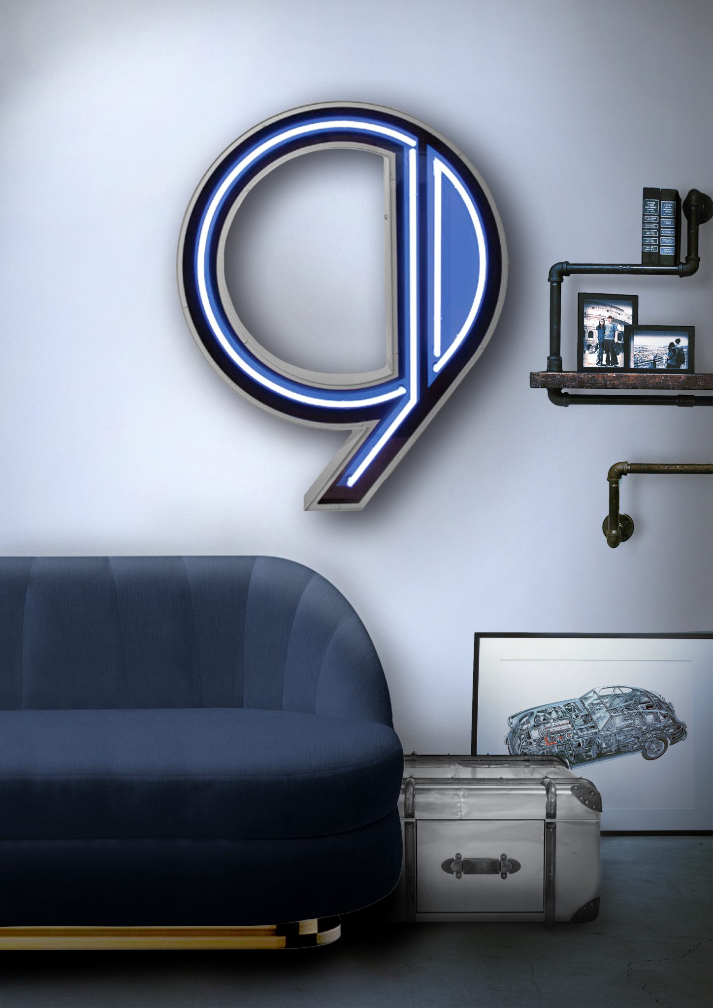 GRAPHIC LIGHTING DESIGN FOR YOUR LIVING ROOM