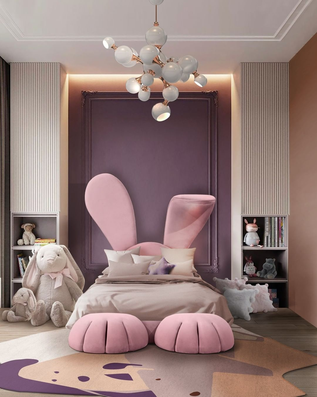THE IDEAL LIGHTING PIECE FOR A FUN BEDROOM