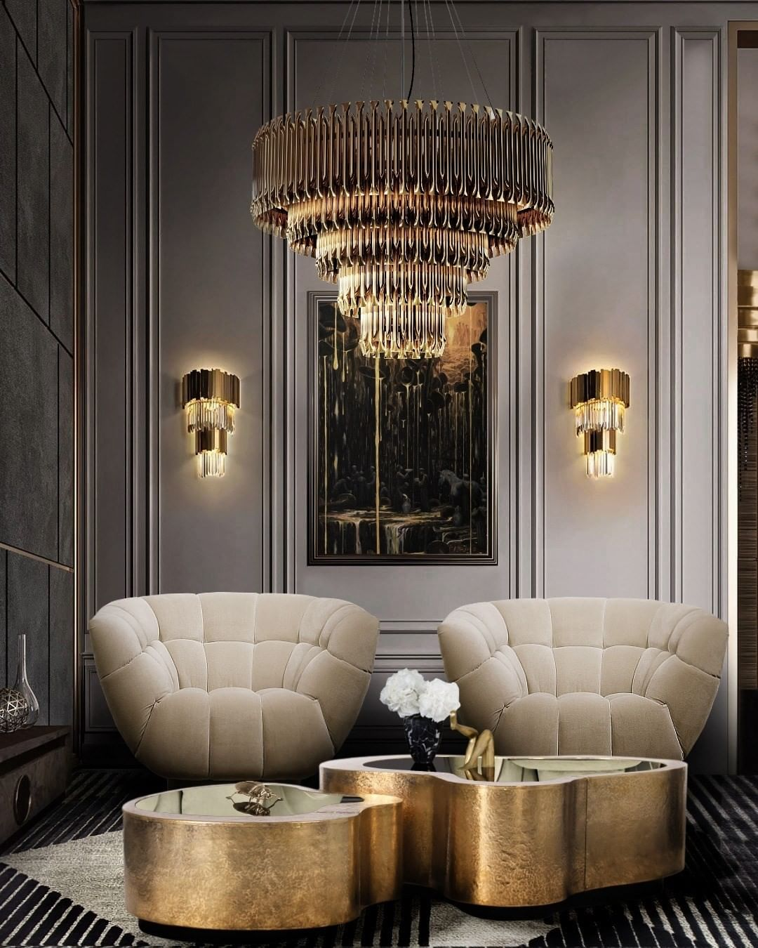 THE TRUE DEFINITION OF LUXURY WITH MATHENY CHANDELIER
