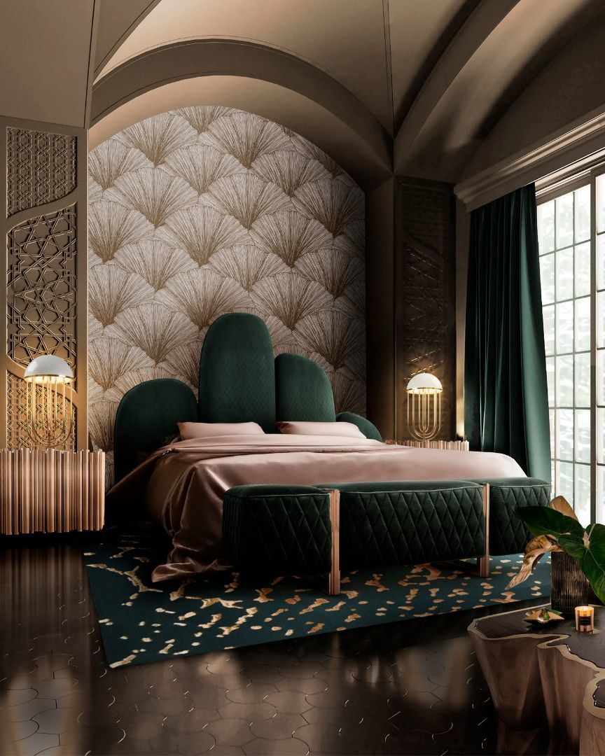 A LUXURIOUS BEDROOM MUST HAVE A MEMORABLE PIECE