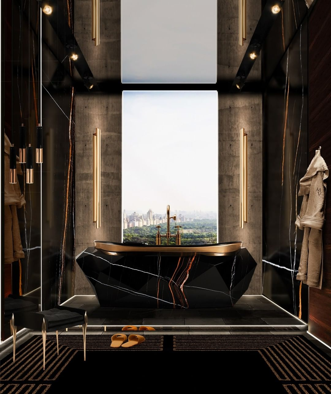 DREAM WITH THIS OPULENT MASTER BATHROOM