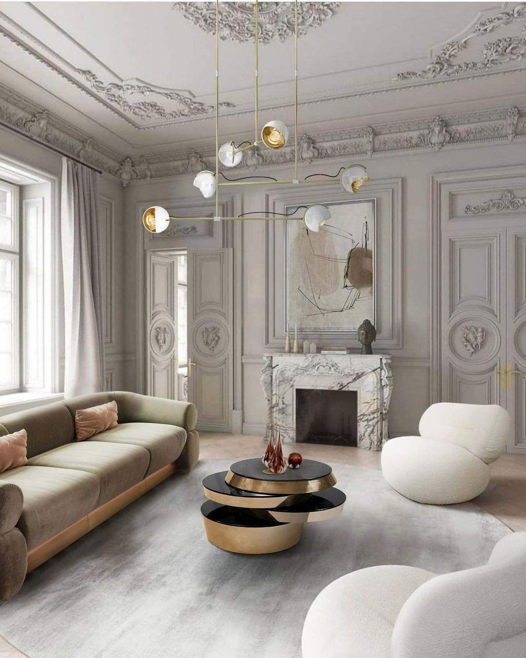 FEEL INSPIRED WITH THIS LUXURIOUS LIVING ROOM