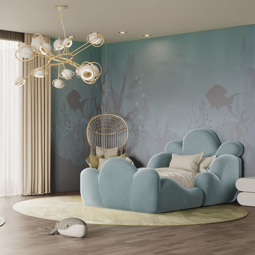 COSMO GIVES A SPECIAL TOUCH TO CHILDREN'S BEDROOM