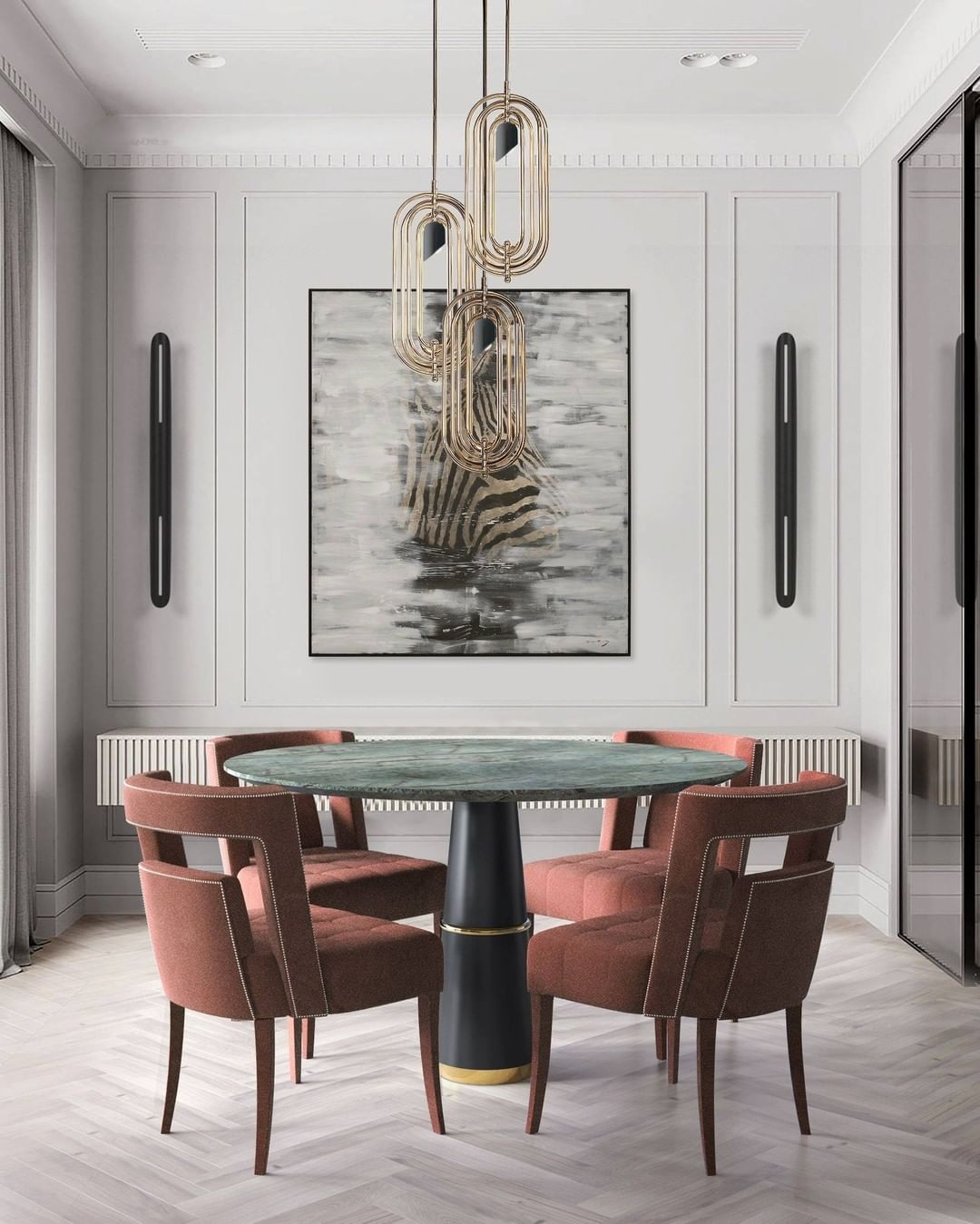 THE PIECE TO COMPLEMENT ANY NEUTRAL DINING ROOM