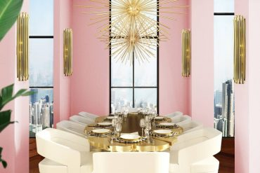 A DINING ROOM WITH A TOUCH OF LUXURY