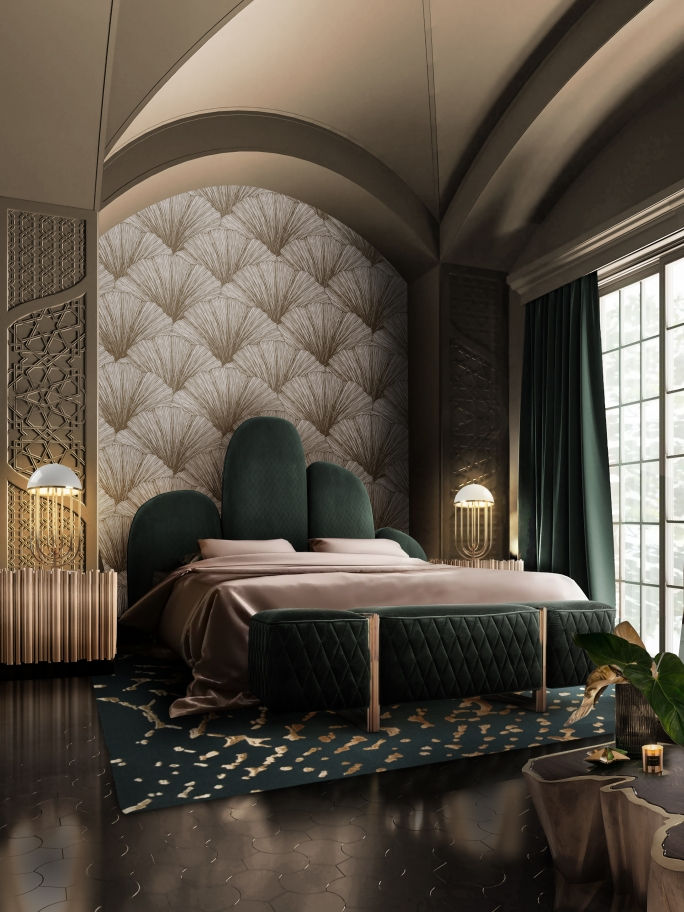 GET INSPIRED WITH THIS BEDROOM, WITH TURNER TABLE LAMP