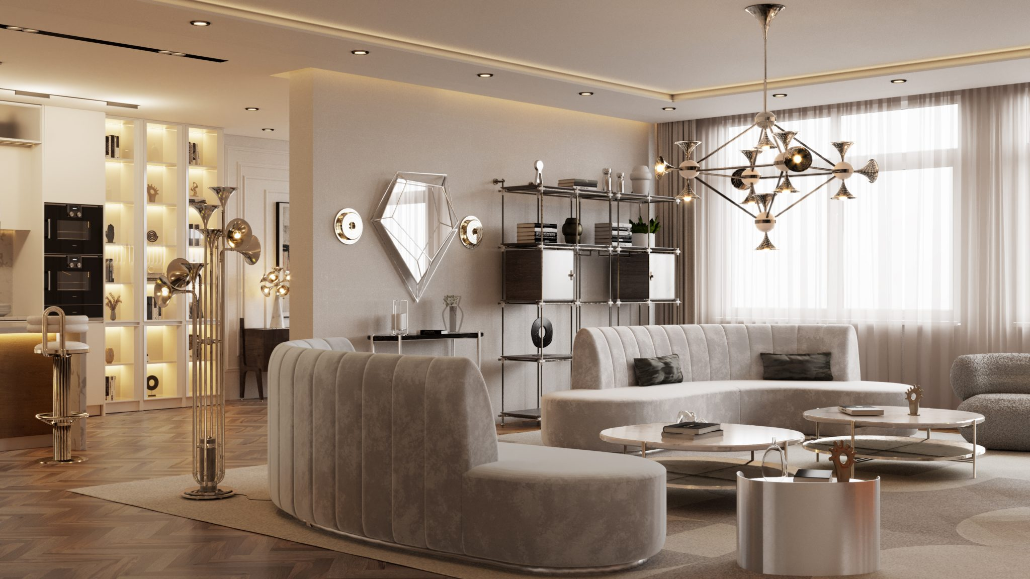 Must Have Luxurious Lighting Fixtures For A Modern Living Room